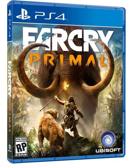 Jogo Far Cry Primal Ps4 Mida Fisica Cd Original Game Novo Lacrado Português Promoção