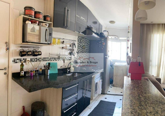 Apartamento À Venda, 56 M² Por R$ 295.000,00 - Cocaia - Guarulhos/sp - Ap2083