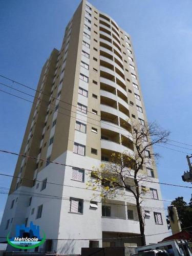 Apartamento Com 2 Dormitórios Para Alugar, 60 M² Por R$ 1.240/mês - Vila Milton - Guarulhos/sp - Ap1357