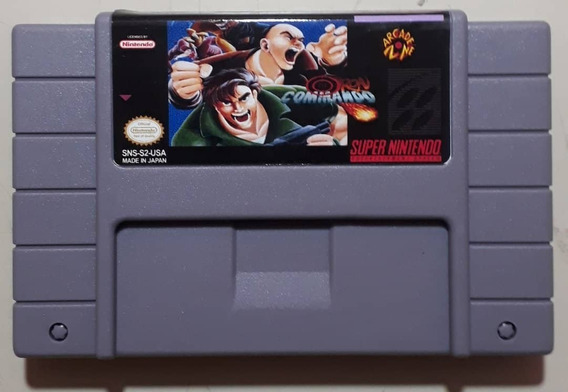 Iron Commando Super Nintendo