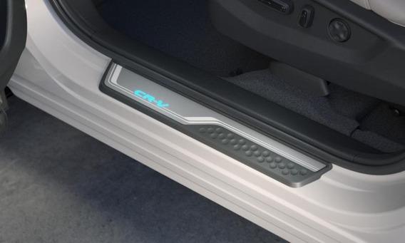 Protetor Soleira Iluminada Led Original Honda Crv Cr-v 13/18