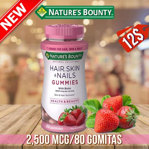 Nail, Hair & Skin Gummies (80 Pcs)