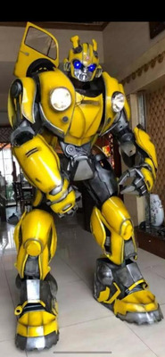 Robo De Led, Transformers, Personagens Vivos, Performance