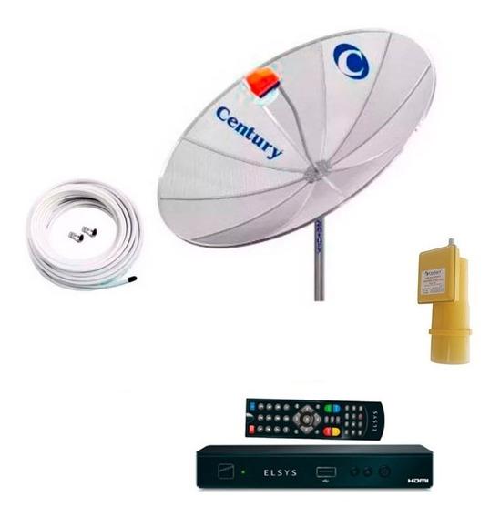Antena Parabolica 190 Receptor Multiponto Estendido Century