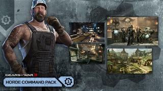Comando De Horda - Gears Of War 3 - Dlc - Xbox 360/xbox One