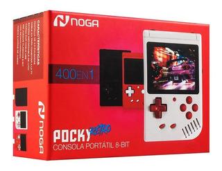 Consola Videojuegos Noga Pocky Retro + 400 Juegos