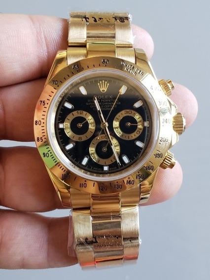 Relógio Rolex Daytona Gold Premium Automatico ( Promoção )