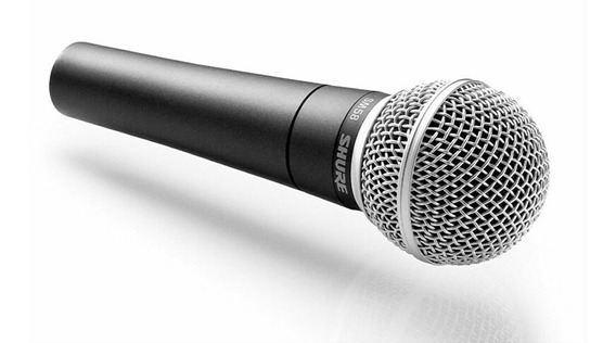 Microphone Profissional Vocal Karaoke Sm-58