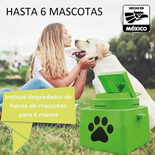 Imagen 1 de 9 de Biodigestor P/mascotas Communal Pet Incluye Degradador Heces