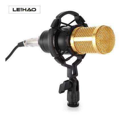 Leihao Bm - 800 Microfone Condensador Profissional Bm - 800