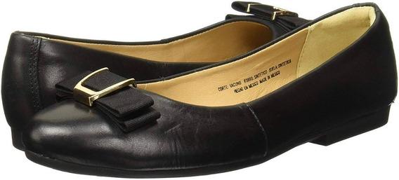 Balerina Flexi Dama 47303 Negro - Flats - Zapatos