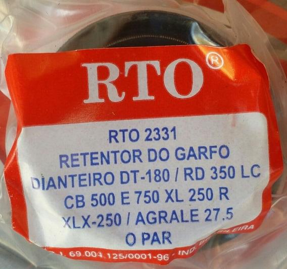 Par De Retentores Bengala, Garfo Xl250, Cb 500, Cbx750