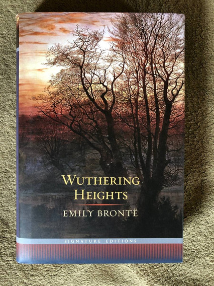 Livro Wuthering Heights Emily Brontë Capa Dura