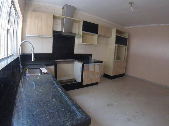 Sobrado Com 3 Dormitórios Para Alugar Por R$ 2.000,00/mês - Parque São Vicente - Mauá/sp - So0067