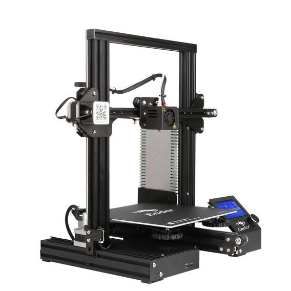 Impressora 3d Ender 3 + 1 Kg Filamento Pla Premmium+ 1kg Abs