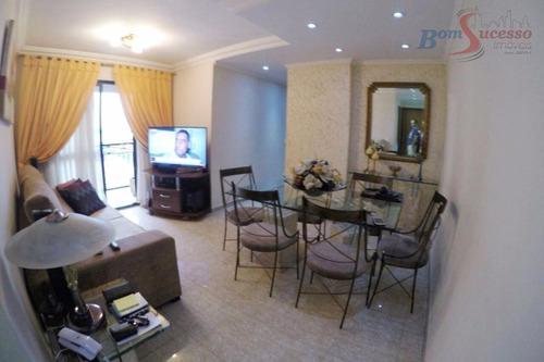 Imagem 1 de 10 de Apartamento Com 3 Dormitórios À Venda, 65 M² Por R$ 499.000,00 - Vila Carrão - São Paulo/sp - Ap0995