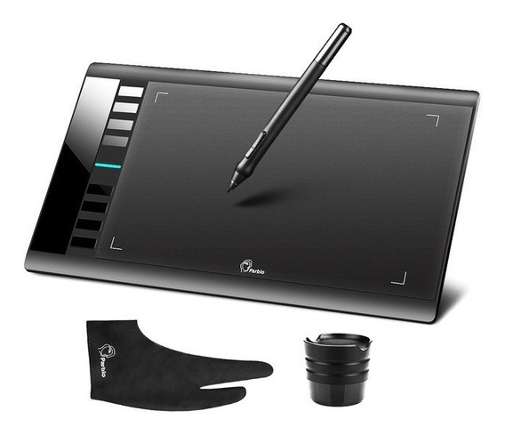 Mesa Digitalizadora Parblo A610 Tablet Gráfico Área 29,21cm