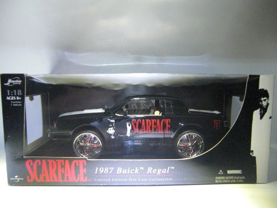 1987 Buick Regal Scarface Marca Jada Escala 1/18