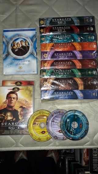 Box/dvd Stargate Sg.1 Todas 10 Temporadas Original 53 Discos