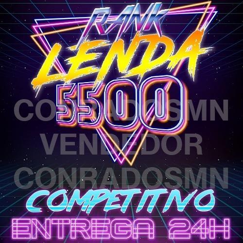 Rank Glória Lenda / Legend 5500 24h - Destiny Pc, Ps4, Xbox