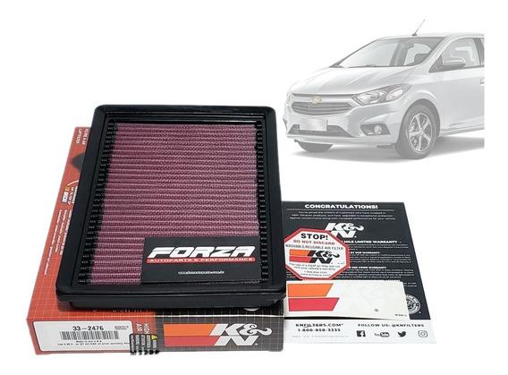 Filtro Ar Esportivo K&n Inbox Chevrolet Prisma Onix 1.0 1.4