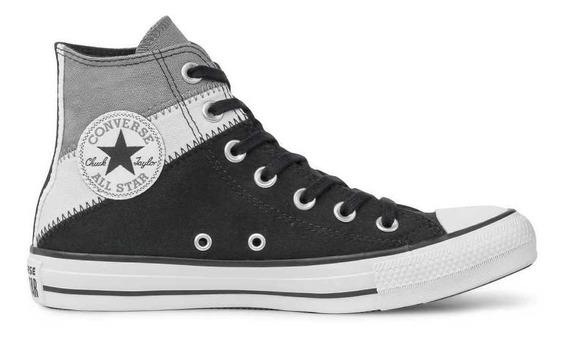 Tênis Converse Chuck Taylor All Star Tri-split Hi Alumínio