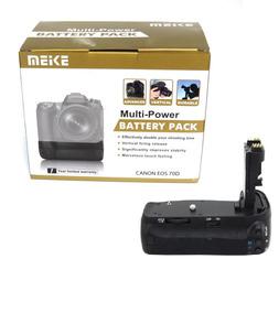 Battery Grip Meike P/ Canon 70d Mk-70d Usa Pilhas / Baterias