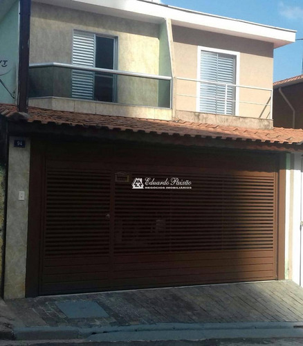 Sobrado Com 3 Dormitórios À Venda, 142 M² Por R$ 430.000,00 - Jardim Las Vegas - Guarulhos/sp - So0339