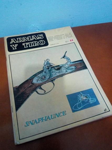 Revista Colecionável Argentina Armas Y Tiros Ano Ix N°44