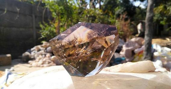 Pedra Quartzo Rutilado Natural