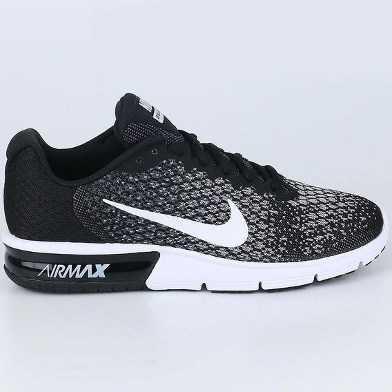 Nike Air Max Sequent Negras Ropa y Accesorios en Mercado