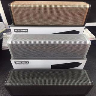 Parlante Bluetooth Ma-200s 10w Fm Microsd Usb