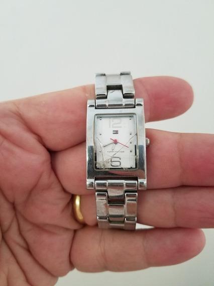 Relógio Feminino Tommy Hilfiger Parado Com Detalhes