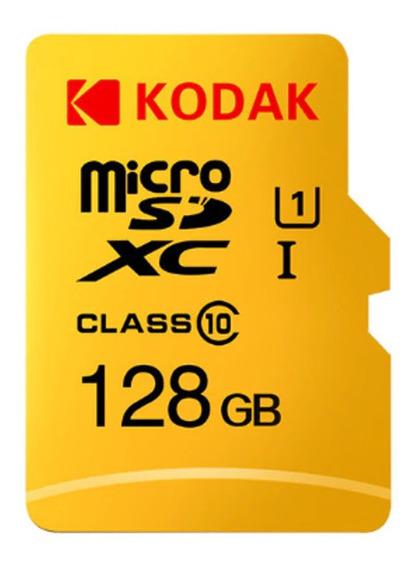 Cartão De Memoria Microsd 128gb Kodak Drone Gopro Cameras