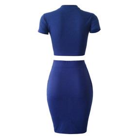 bde037f40 Faldas Para Folklore - Conjuntos de Lencería Azul marino en Mercado ...