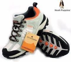 Zapatilla Trekking Hush Puppies Kell Mujer - 35 Al 40 - Gris