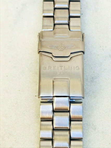 Breitling Pulseira Titânio 126e/2702 Nova 100% Original 20mm