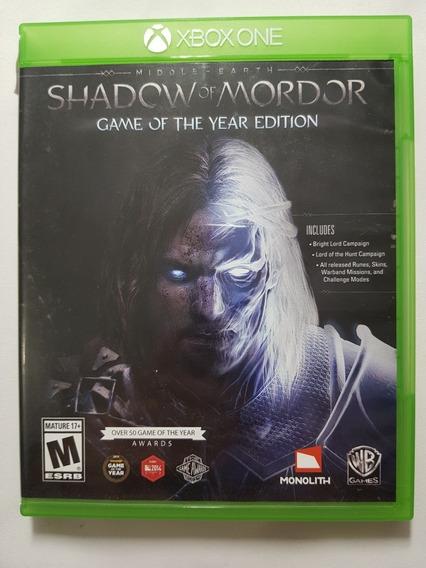 Shadow Of Mordor Xbox One Pt-br Mídia Física