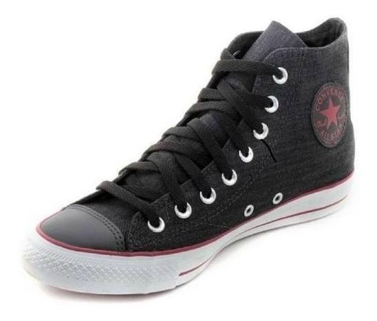 Zapatillas Converse All Star Hi Jeans Mujer 138391b On