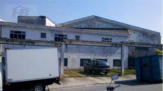 Galpão Industrial À Venda, Vila Sul Americana, Carapicuíba. - Ga0033
