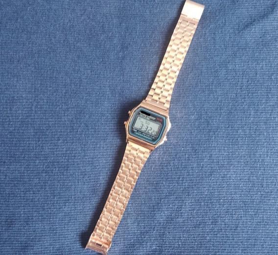 Relógio Digital Vintage Retro Casio- Calendário