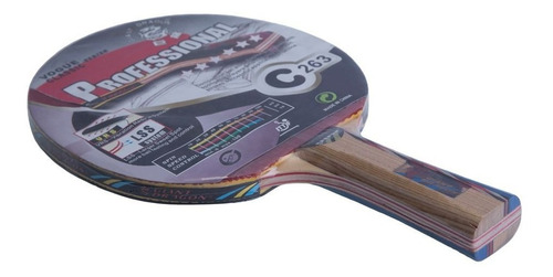 Paleta Ping Pong Tenis De Mesa Giant Dragon 6* Professional