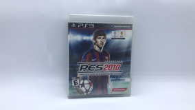 Pes 2010 - Ps3 - Midia Fisica Em Cd Original