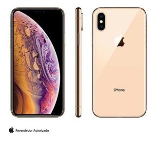 iPhone Xs Dourado, Com Tela De 5,8 , 4g, 64 Gb E Câme 12 Mp