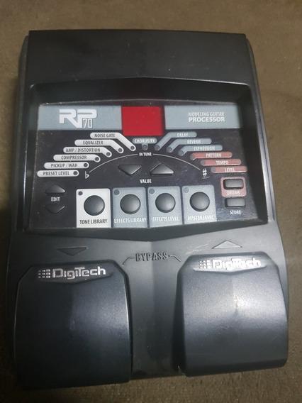 Pedaleira Rp 70 Digitech Stompbox Efeitos Simuladores