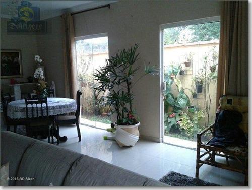 Sobrado Com 3 Dormitórios À Venda, 196 M² Por R$ 675.000,00 - Santa Maria - Santo André/sp - So0300