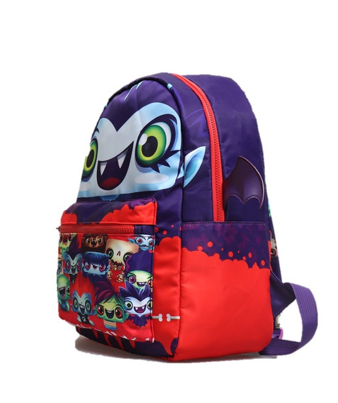 Mochila Niño Escolar The Real Monster Show Original