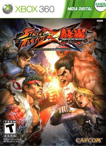Street Fighter Tekken Xbox 360 Midia Digital