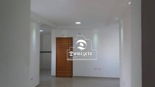 Cobertura Com 2 Dormitórios À Venda, 121 M² Por R$ 410.000,00 - Vila Valparaíso - Santo André/sp - Co1378