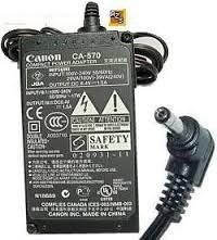 Cargador Canon Ca-570 Para Camaras Vixia Hv10, Hv20, Hv30,
